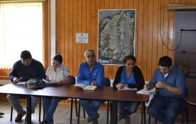 PRIMERA REUNION DE ALCALDE DE LONQUIMAY EN LA DELEGACION MUNICIPAL DE ICALMA
