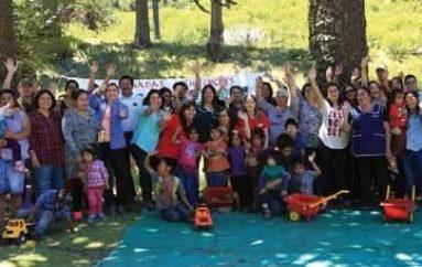Inauguran las veranadas puehuenches en Lonquimay