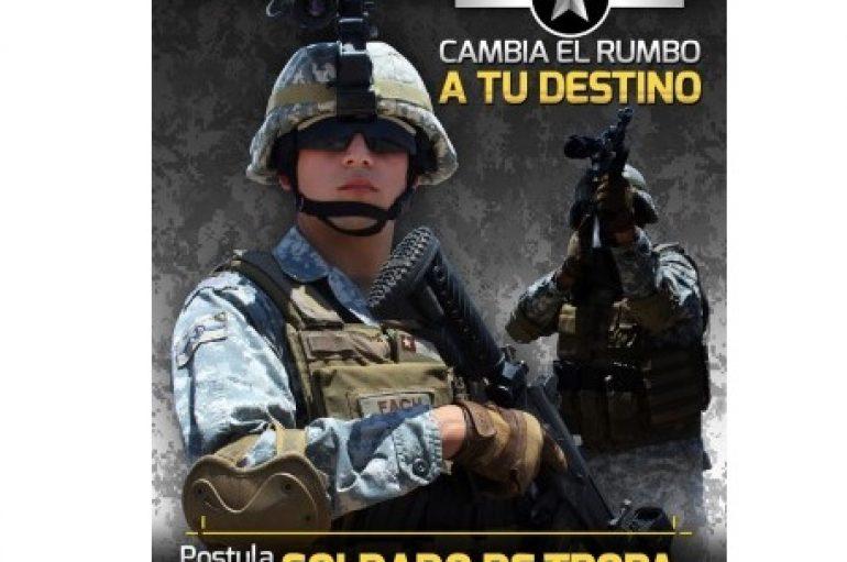 POSTULA A SOLDADO DE TROPA PROFESIONAL DE LA FUERZA AÉREA DE CHILE