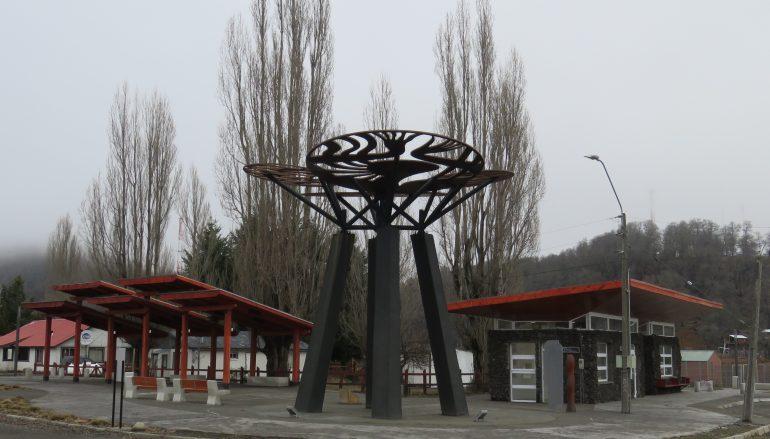 Se inauguró la plaza de Icalma