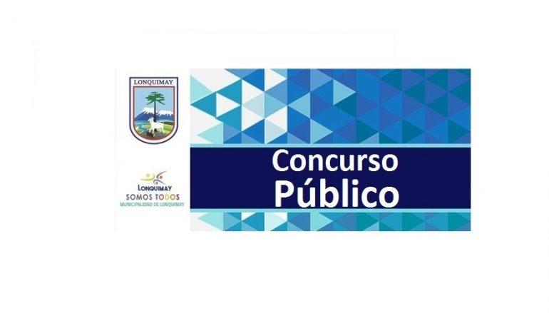 Concurso Publico – 01 APOYO FAMILIAR INTEGRAL