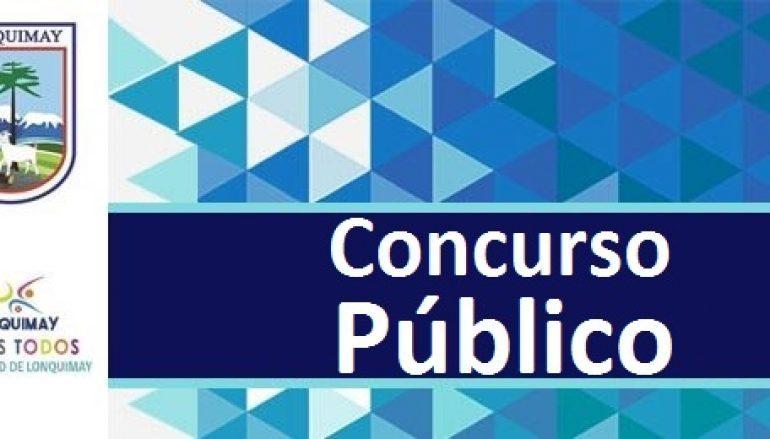 Concurso Público: Gestor Territorial OMIL