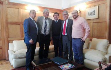 Alcalde de Lonquimay se reúne con el subsecretario Ricardo Cifuentes