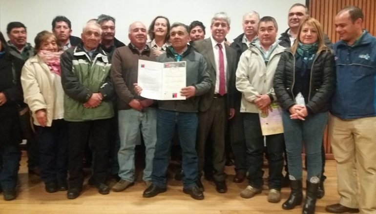 LONQUIMAY RECIBE IMPORTANTE FINANCIAMIENTO EN OBRAS DE RIEGO