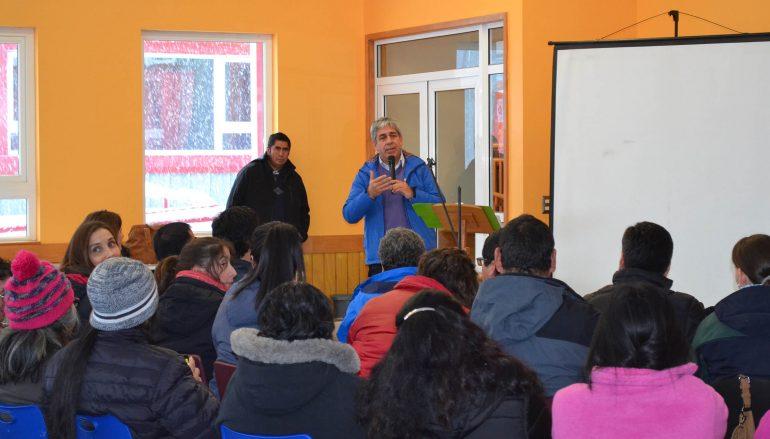 LANZAMIENTO PROYECTO HUERTOS PEHUENCHES DE ALTA MONTAÑA EN PEDREGOSO, LONQUIMAY