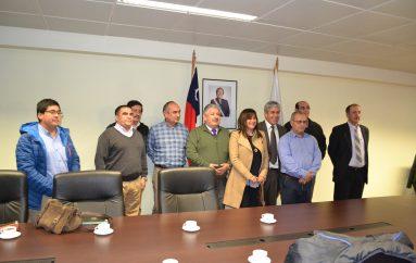 Municipios cordilleranos reciben el apoyo del Intendente para nueva zonas de rezagos