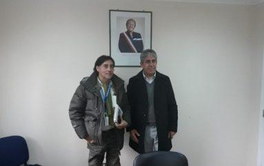 IPS Araucanía coordina trabajo con Municipalidad de Lonquimay