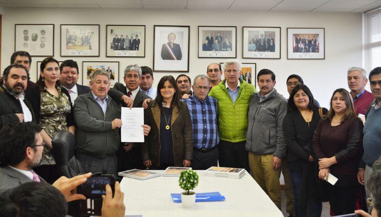 CONSTITUÍDA NUEVA ASOCIACIÓN DE MUNICIPALIDADES CORDILLERANAS DE LA ARAUCANÍA