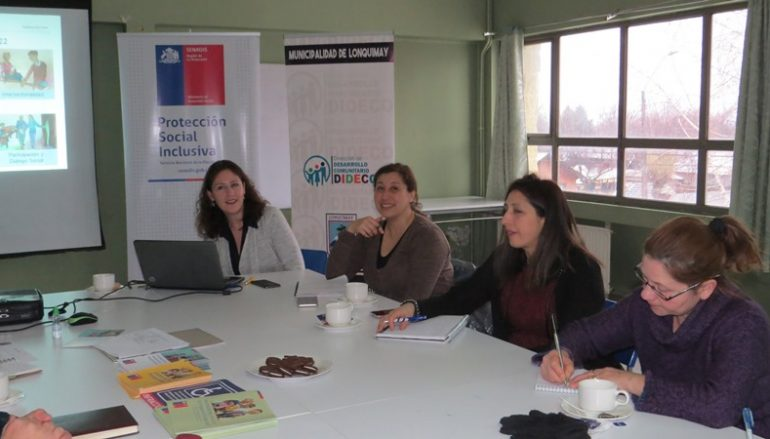 JORNADA DE TRABAJO CON EL SERVICIO NACIONAL DE DISCAPACIDAD (SENADIS ARAUCANÍA)