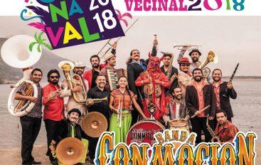 Carnaval Vecinal de cierre de verano 2018