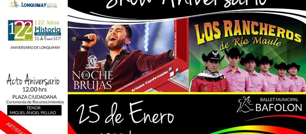 Show Aniversario-25 Enero