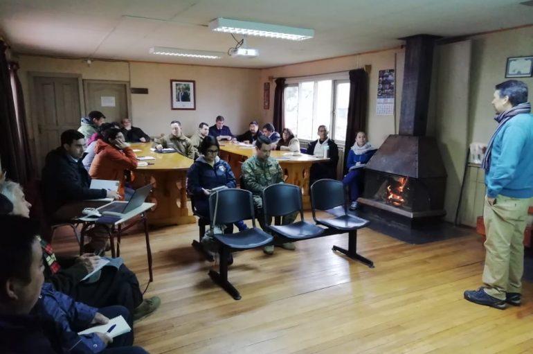 SE CONSTITUYÓ EL COMITÉ DE PROTECCIÓN CIVIL DE LONQUIMAY