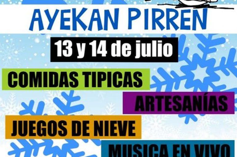 3° FIESTA DE LA NIEVES 2019 -AYEKAN PIRREN- LONQUIMAY