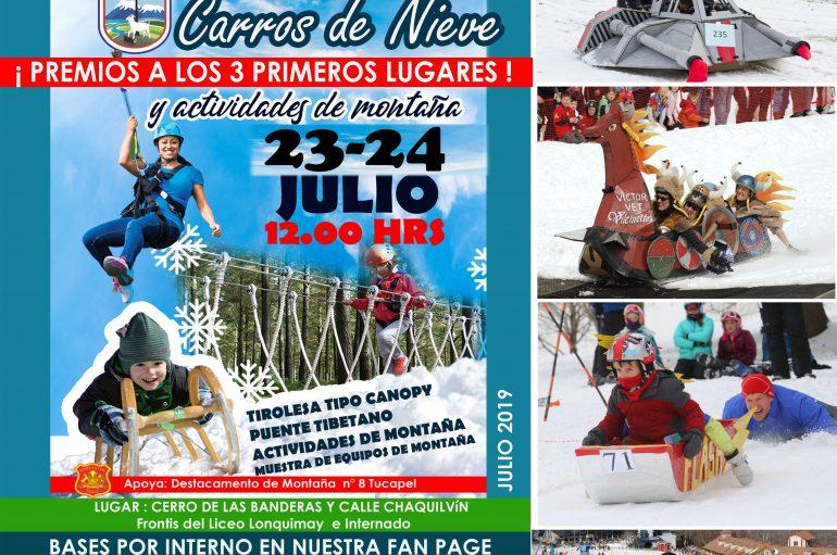 CONCURSO CARROS DE NIEVE 2019