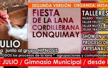 FIESTA DE LA LANA CORDILLERANA – LONQUIMAY
