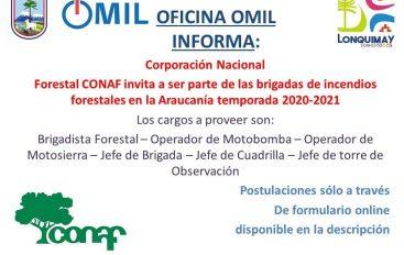 Oferta de Empleo CONAF