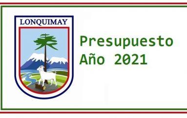 PRESUPUESTO AÑO 2021